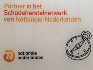 partner schadeherstelnetwerk Nationale Nederlanden