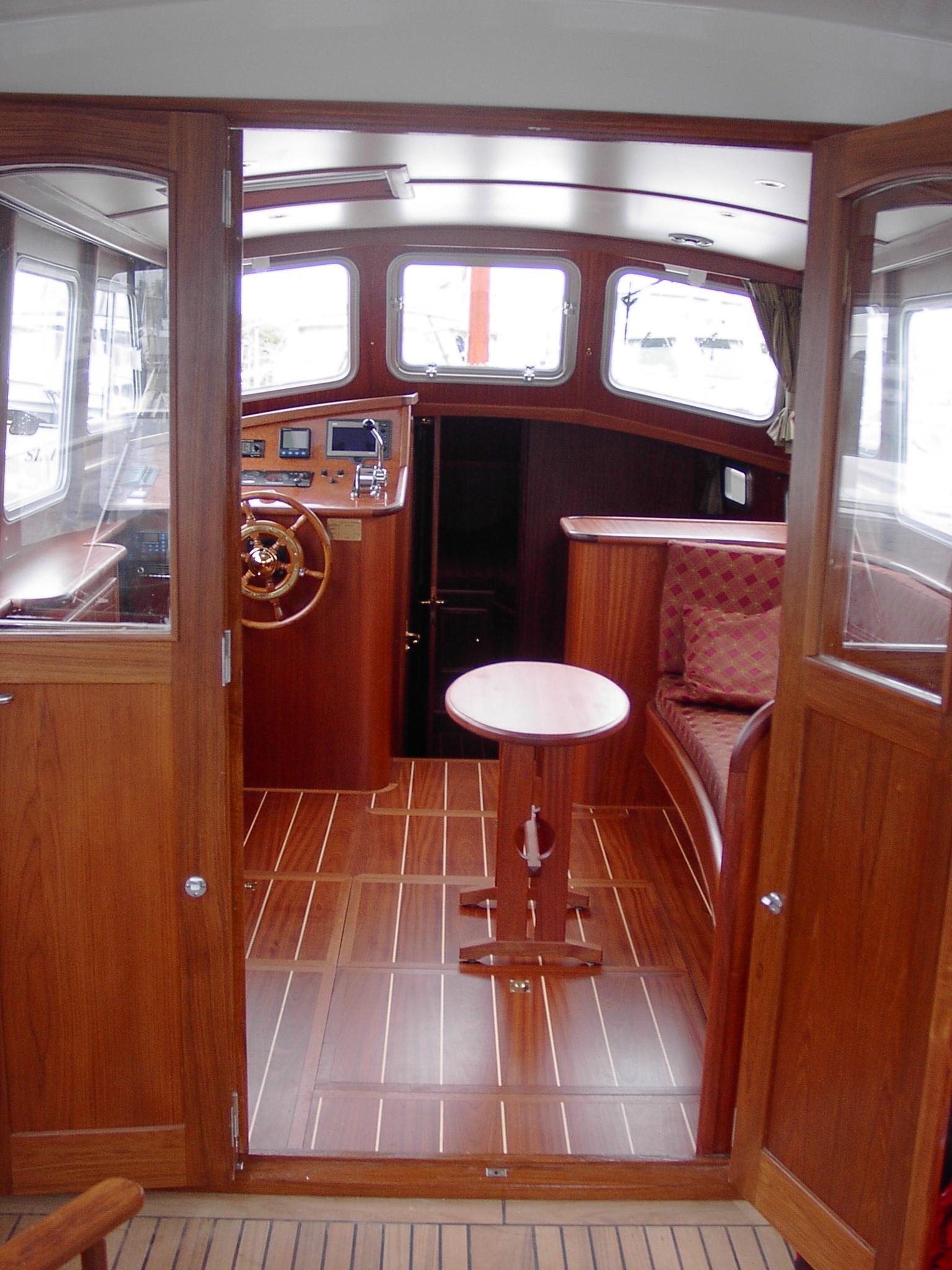 Multivlet 1100 OK mahonie interieur